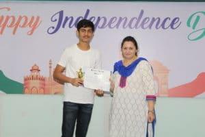 Felicitation Of ICSE – 2017 Toppers